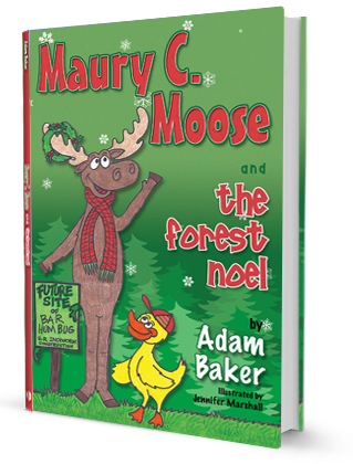 Maury C Moose Book 3D