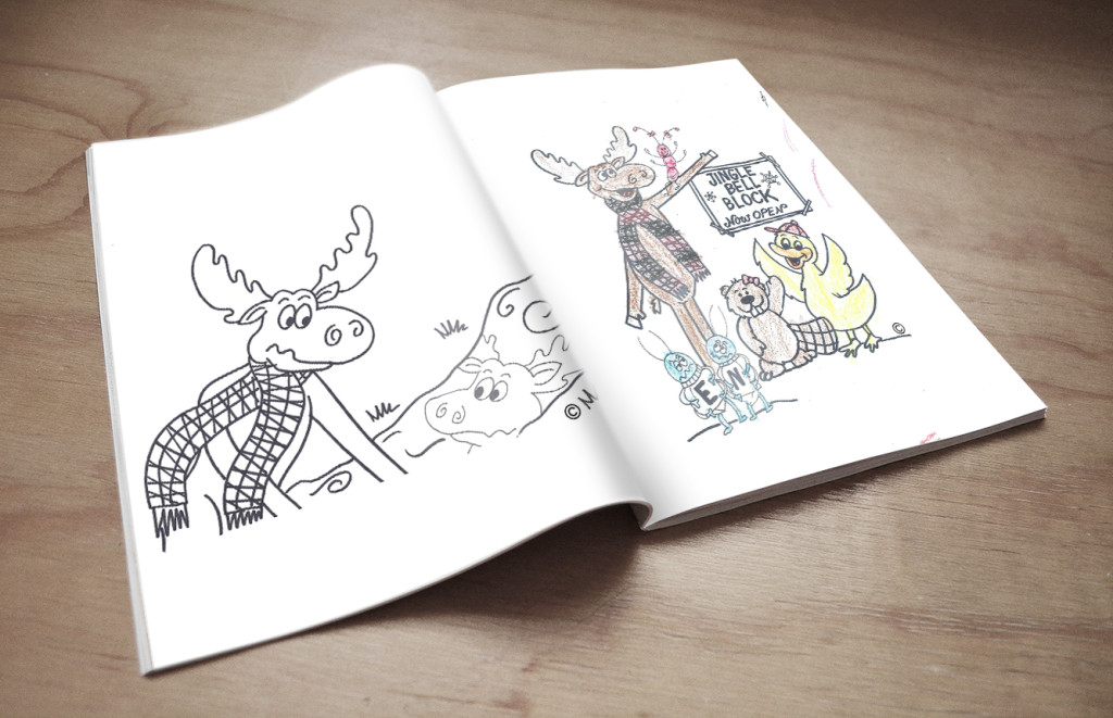 open book coloring page - coloring book open pages maury c moose children 39 s book