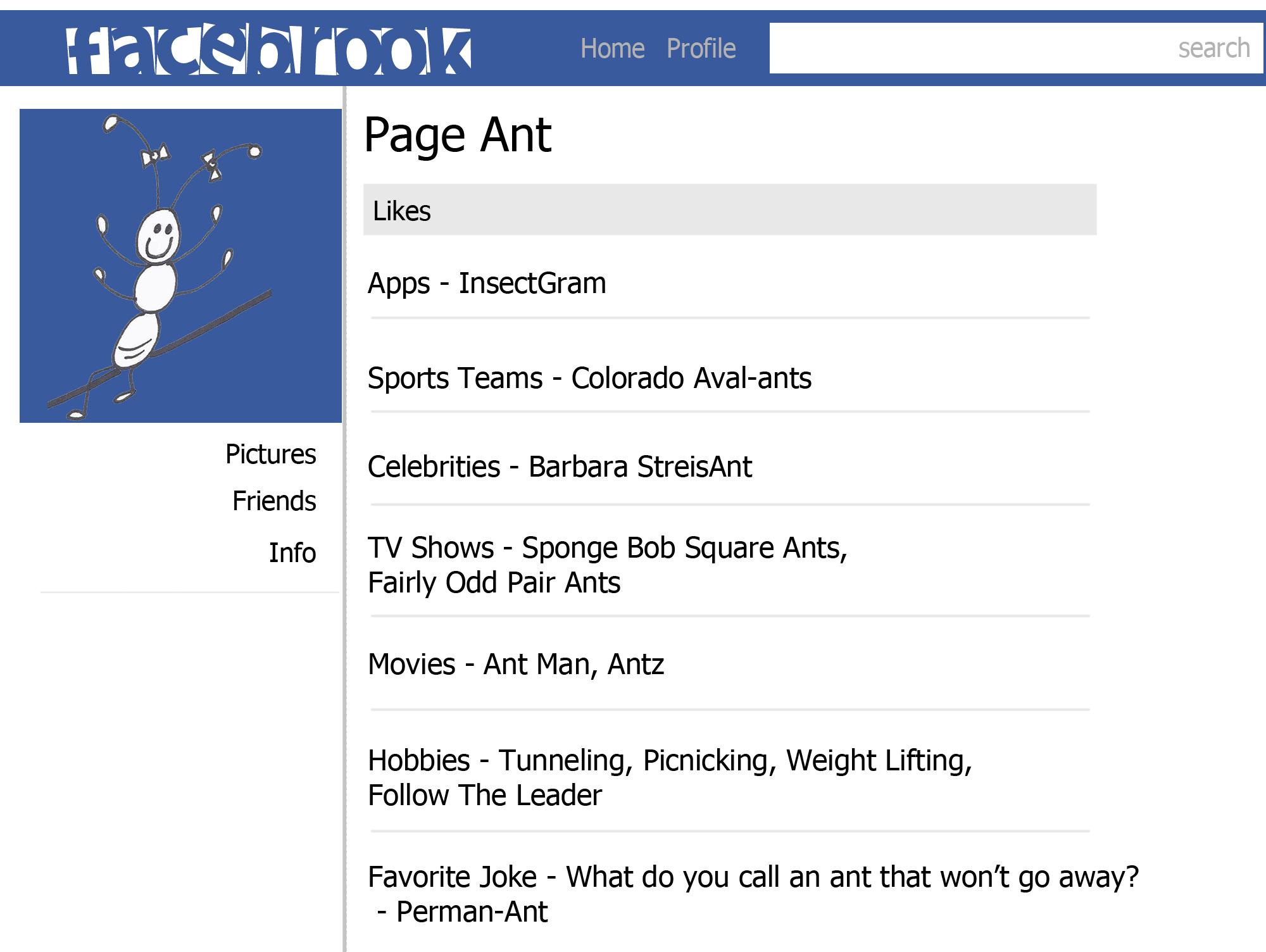 Page Ant Profile colo