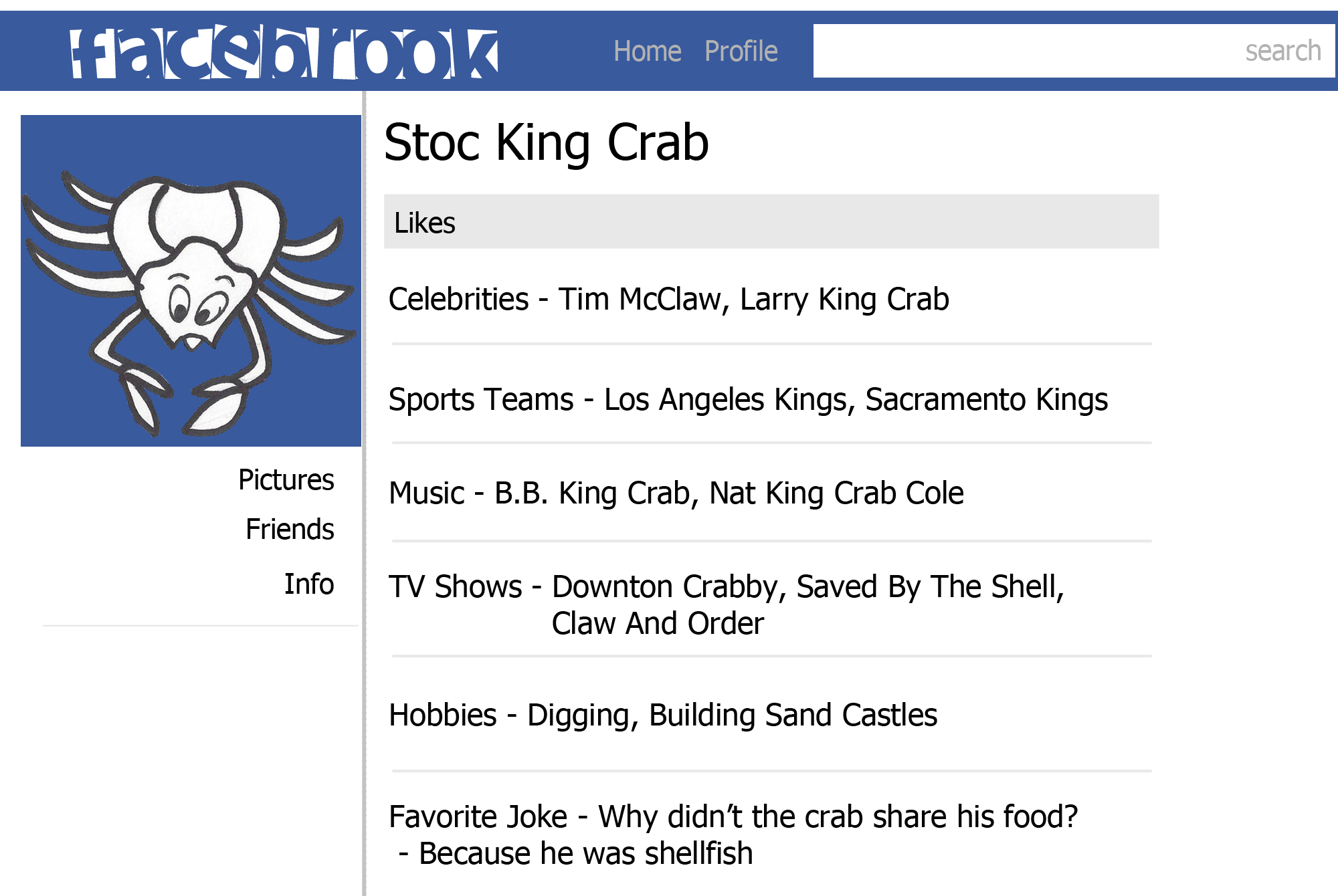 Stoc King Crab Profile color