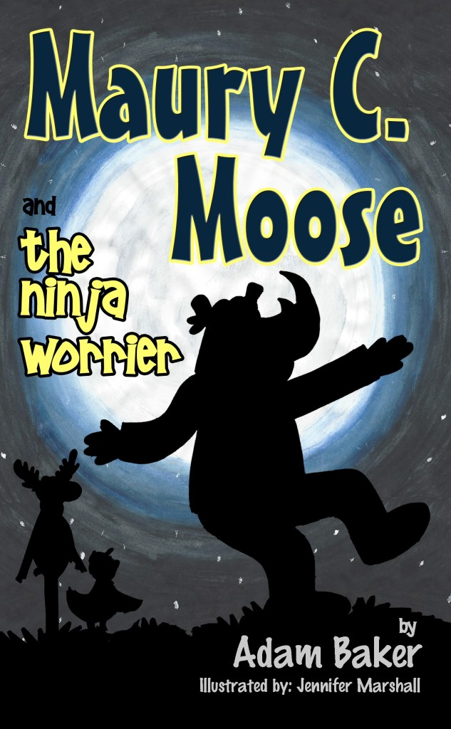 Maury C Moose Book 3 Front Cover
